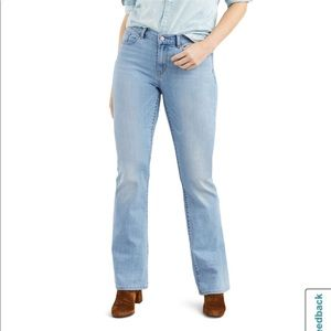 Levi's TALL 550 high waisted relaxed bootcut
